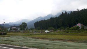 岐阜の田舎。のどかでいいところでした。
