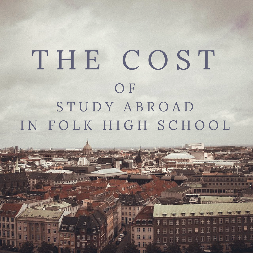 The cost of study abroad in Folk high school