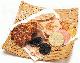 美味しい煎餅が食べたいなら「えびせんべいの里」で決まり!名古屋土産に、外国人へのお土産に最適。