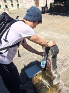 イタリアの飲み水