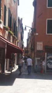 ベネチアのパスタ屋さんへの行き方