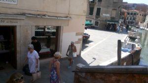 ベネチアのパスタ屋さんのへアクセス