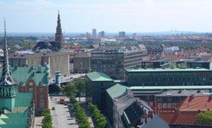コペンハーゲン市街地