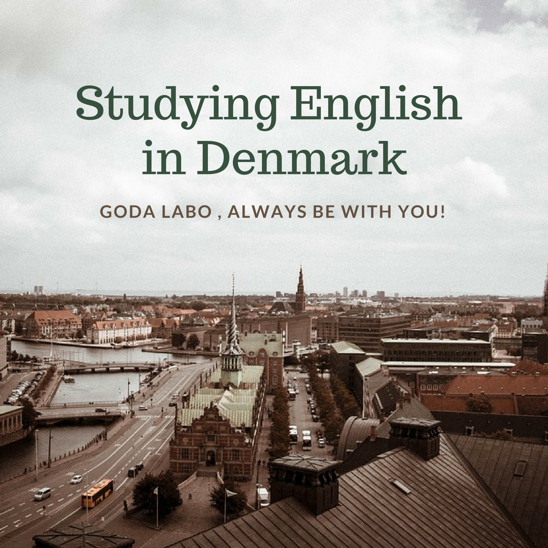 Studying English in Denmark