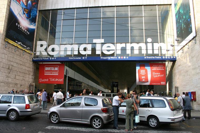 ローマ・テルミニ駅で広々快適でFree Wi-Fiもあるカフェ「ciao」