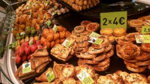 サンジョセップ市場内のパン