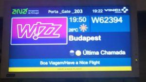 Wizz Air いざブダペストへ!