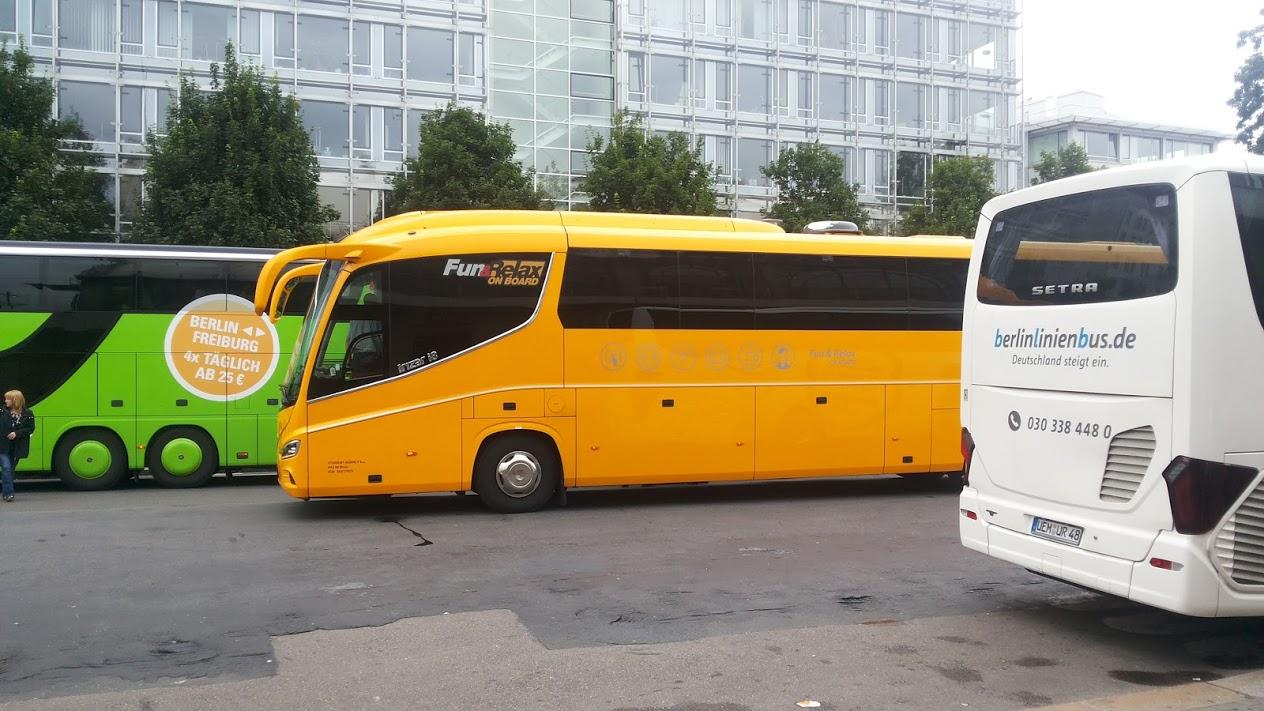 ヨーロッパのバス移動は格安の「Student Agency」で!