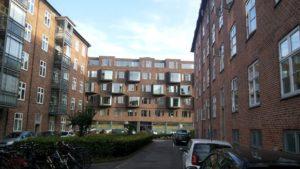私が泊まったデンマーク人のアパート