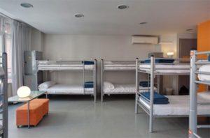 バルセロナの宿・アルベルグイン ユース ホステル