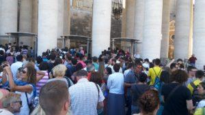 サン・ピエトロ大聖堂への行列