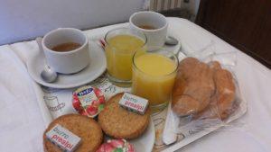 b&bの朝食