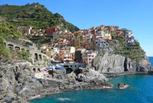 イタリアの夏は日差しが強い