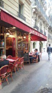 Le Café de la Butteの外観