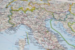 イタリアの地形