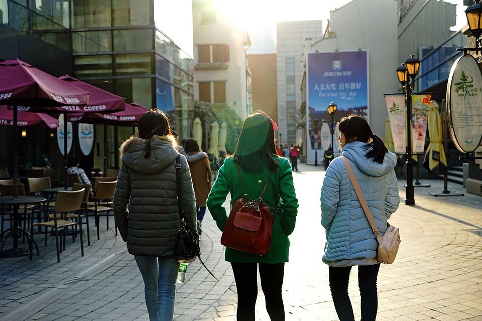中国の女性