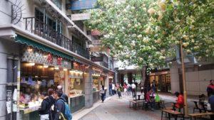 香港街市の外観
