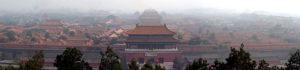 清朝の王族が住んでいた紫禁城