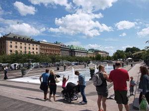 王様の公園(Kungsträdgården)