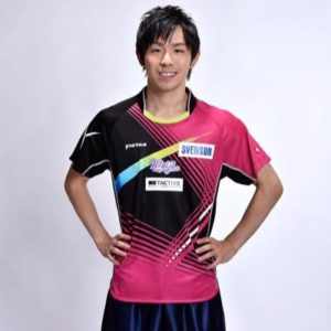 丹羽孝希選手(Twitterより)