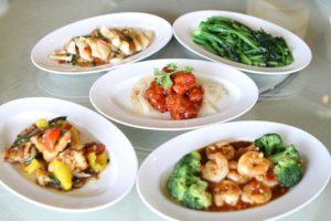 中華料理の大皿