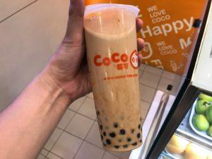 Cocoのタピオカミルクティー