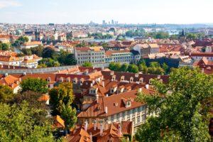 チェコ・プラハの街並み
