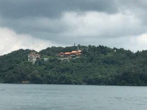 船上から眺める文武廟