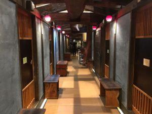 店内は全席個室。プライベートな空間でひつまぶしが楽しめます。