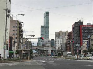 西成のすぐ隣には「あべのハルカス」が。