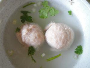貢丸湯、魚丸湯(肉団子スープ、魚団子スープ)