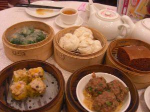 香港で食べた飲茶(点心)