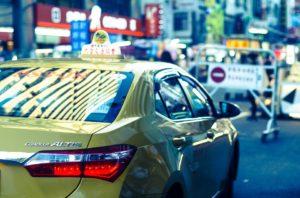 台湾の公式タクシーは黄色