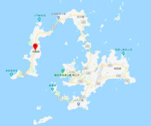 西嶼島の位置