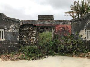 廃墟と化した四合院