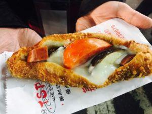 營養三明治(揚げパンサンドイッチ)