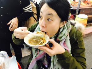 日本メディアのミキさんも顔芸か?