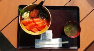 いくらサーモン丼 1280円