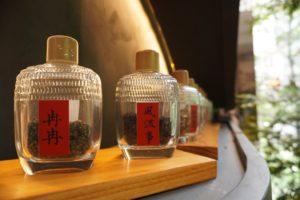 台湾茶専門店の「櫟社」
