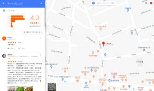 Google Mapの評価