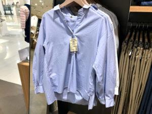 女性モノのシャツ