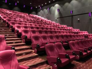 映画館の中の様子