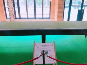 ポーツマス条約調印のテーブル