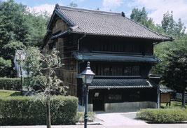 東松家住宅の外観