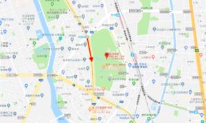 ③名古屋市営地下鉄名城線 神宮西駅→西門