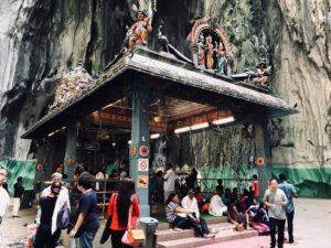一番奥にある最も大きな礼拝所