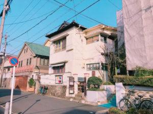 覚王山アパートの外観
