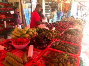 インド食品のスーパー