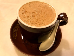 オールドタウンのホワイトコーヒー