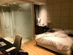 私がマレーシアで宿泊した部屋